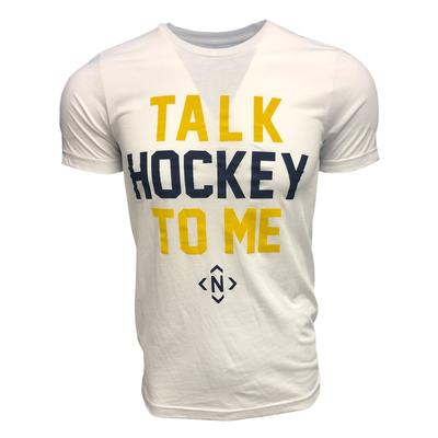 The Nash Collection Talk Hockey To Me Tee