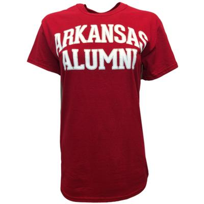 Arkansas Basic Alumni Stack Tee