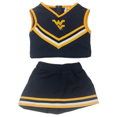 West Virginia Toddler Little King Cheer Set