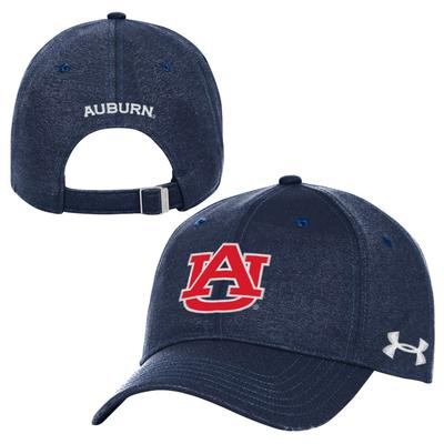 Auburn Under Armour Threadborne Adjustable Closer Hat