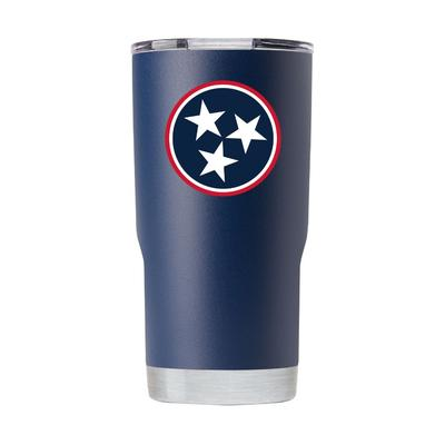 Gametime Sidekick 20oz Tristar Tumbler With Lid