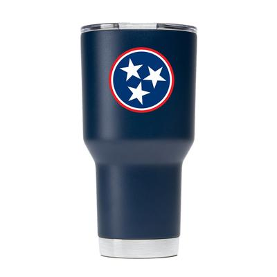 Gametime Sidekick 30oz Tristar Tumbler With Lid