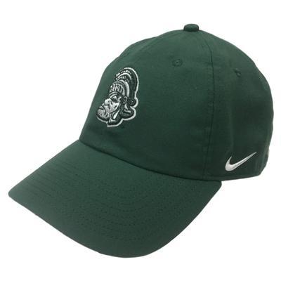 Michigan State Nike Heritage 86 Vault Logo Cap