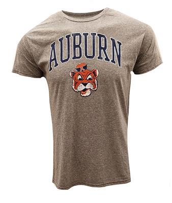 Auburn Retro Brand Vault Tiger Head Arch Tee