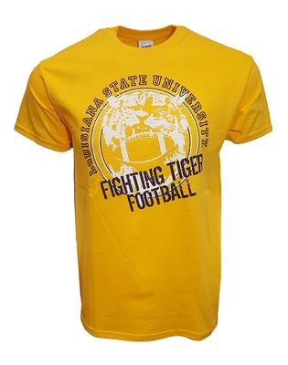 LSU Fighting Tiger Football Tee