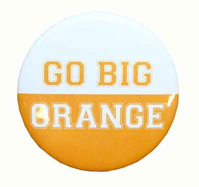 Tennessee Go Big Orange Gameday Button