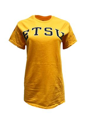 ETSU Women's Basic Arch T-Shirt