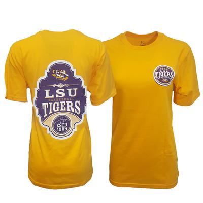 LSU Women's Plaque Basketball Tee