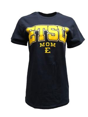 ETSU Women's Straight Mom Tee