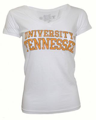 Tennessee Retro Brand Women's Leigh V-Neck Tee