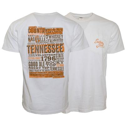 Tennessee Comfort Colors Women's Collage T-shirt