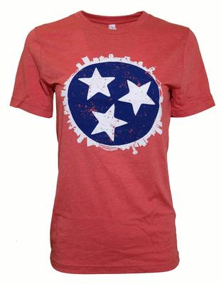 Tennessee Tristar Skyline T-shirt RED