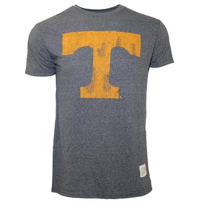 Tennessee Retro Brand Power T Mock Twist Tee
