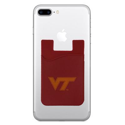 Virginia Tech Silicone Media Wallet