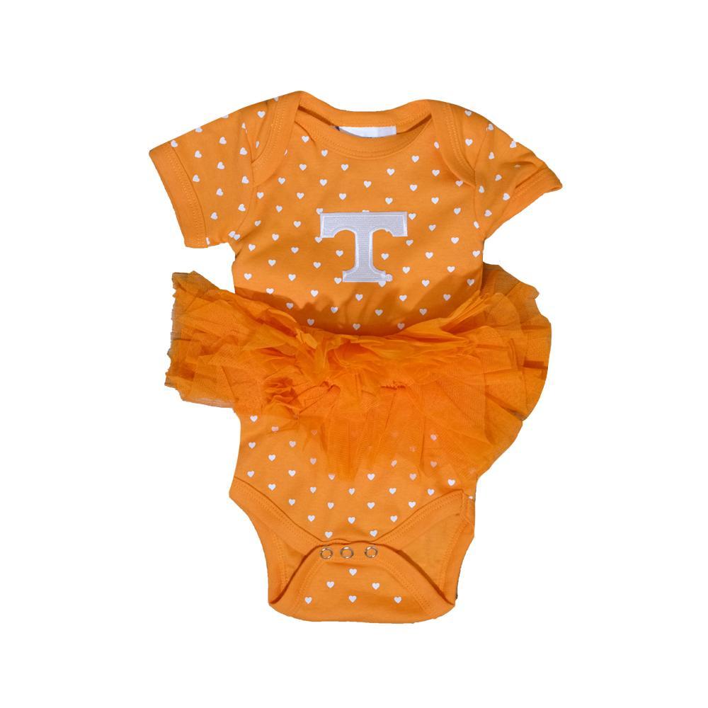Tennessee Infant Heart Tutu Creeper