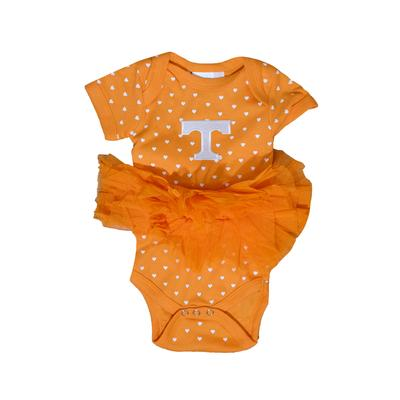 Tennessee Infant Heart Tutu Creeper
