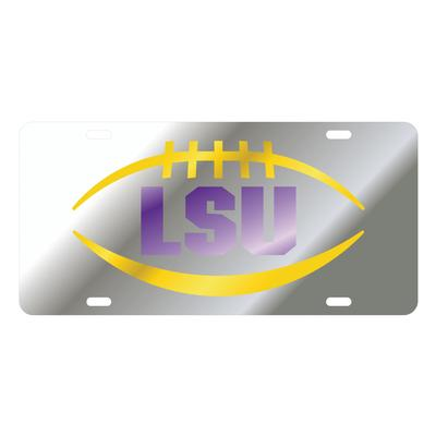 LSU Tigers Football License Plate