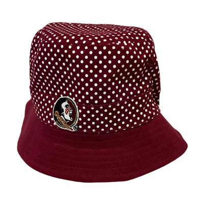 Florida State Infant Pin Dot Bucket Hat