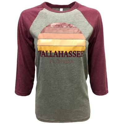 Tallahassee Women's Sunset City Long Sleeve Baseball Tee