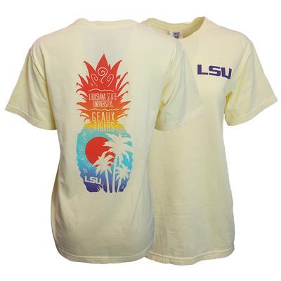 LSU Pineapple Beach Comfort Colors Tee