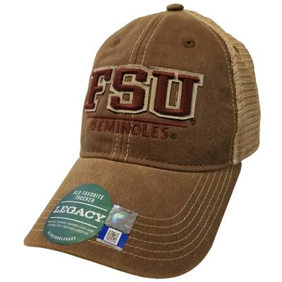 Florida State Legacy LF Patch Hat