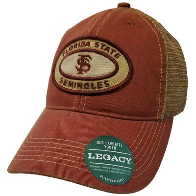 Florida State Youth Raised Patch Mesh Back Cap