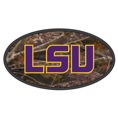LSU Hitch Cover Camo LSU Logo