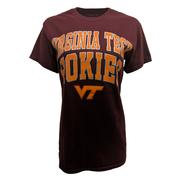 Virginia Tech Basic Double Arch Logo T- Shirt