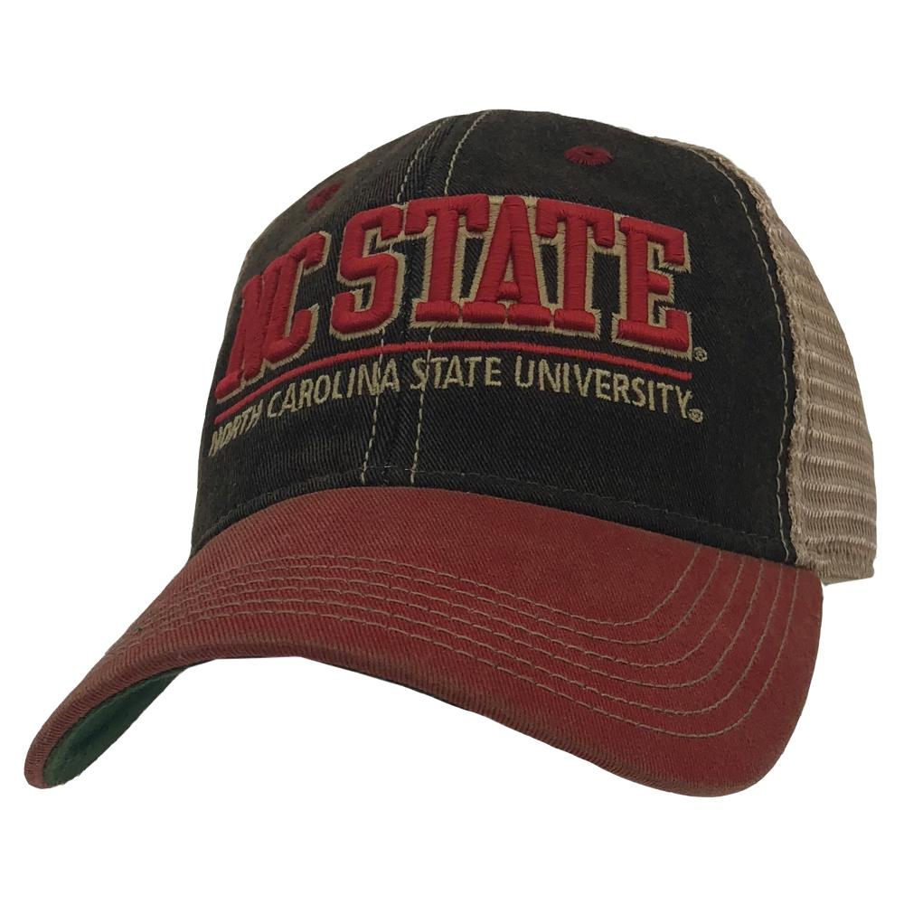 Nc State Legacy Lf Patch Hat