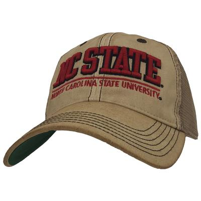 NC State Legacy LF Patch Hat DIRTY/MESH