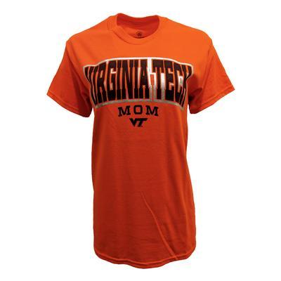 Virginia Tech Mom Arch T-Shirt ORG