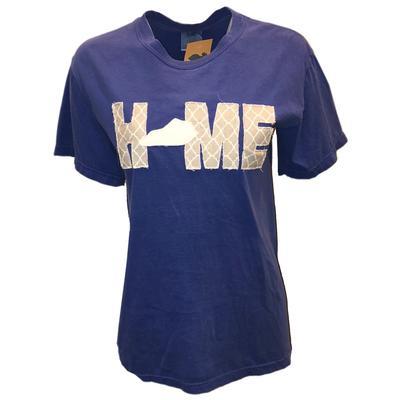 LuckyBird Comfort Colors Kentucky HOME Fringe T-Shirt