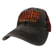 Virginia Tech Legacy Team Color Mesh Trucker Hat