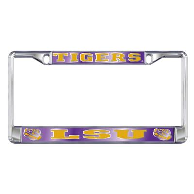 LSU License Plate Frame LSU/Tigers