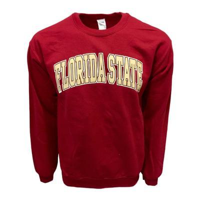 Florida State Arch Logo Crew Sweatshirt