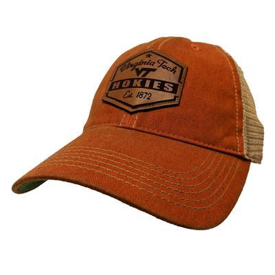 Virginia Tech Legacy Mesh Trucker Patch Hat