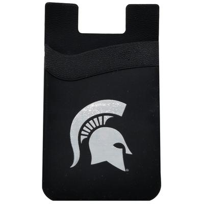 Michigan State Dual Pocket Silicone Phone Wallet