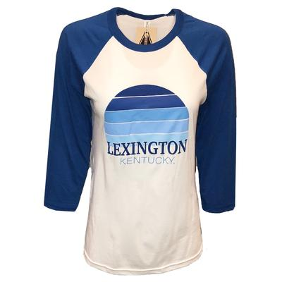 Lexington Women's Sunset City Long Sleeve Baseball Tee