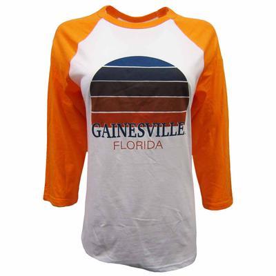 Gainesville Women's Sunset City Long Sleeve Baseball Tee