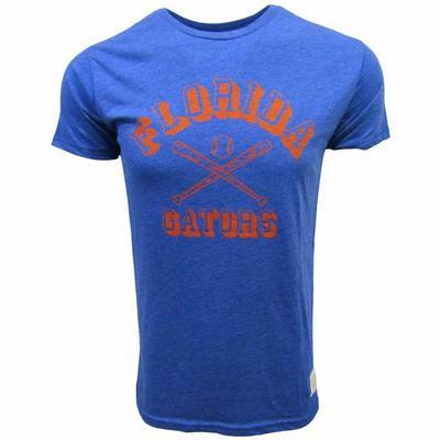 Florida Retro Brand Heathered Baseball Tee