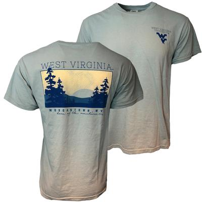 West Virginia Morgantown Comfort Colors Sunset Tee