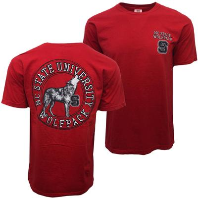 NC State Howling Wolf Comfort Colors Tee