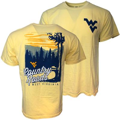 West Virginia Country Roads Comfort Colors Tee