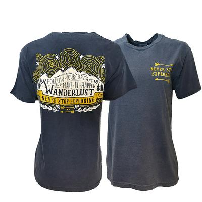 Mountain Wanderlust Comfort Colors Tee