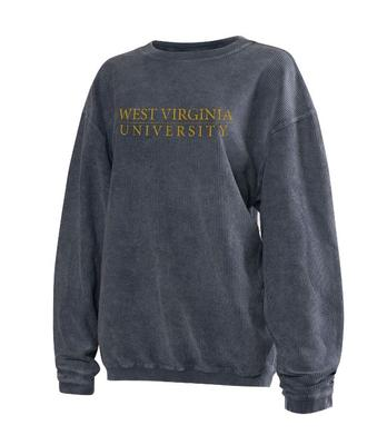 West Virginia Chicka-D Corded Sweatshirt