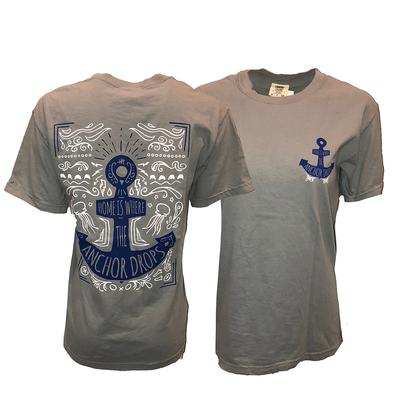 Kentucky Comfort Colors Where The Anchor Drops Tee