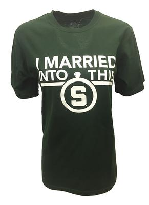 Michigan State I Married Into This T-Shirt