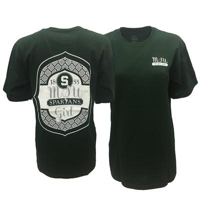 Michigan State Women's MSU Girl Tee