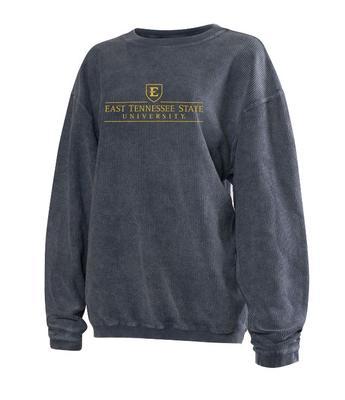 ETSU Chicka-D Women's Corded Sweatshirt