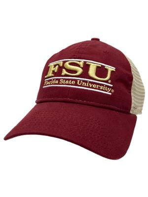 Florida State Unstructured Bar Trucker Hat
